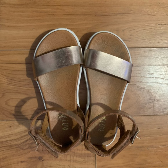 MIA Shoes   Rose Gold Girls Sandals